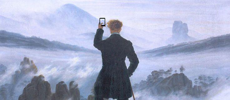 Art X Smart di Kim Dong-Kyu: selfie e tecnologia invadono le opere d'arte