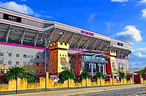 Alpari Stand, Boleyn Ground, Upton Park; home of West Ham United
