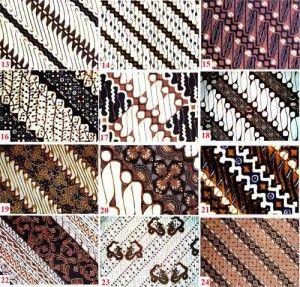 Yogyakarta batiks, Java, Indonesia