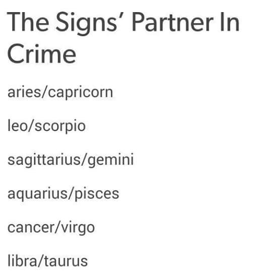 Awe, our Zodiac signs are partners in crime! Who would have guessed! ;) <3 @ladyoftheglen13