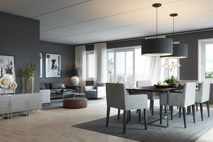 Ullern Hage - kommer for salg 1. kvartal 2017 - Leiligheter med villakvaliteter - Solrik beliggenhet med vidt utsyn