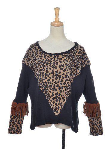 Anna-Kaci Free Size Black Brown Cheetah Print Fashion Dolman Sleeve Shirt Top Anna-Kaci. $14.00. Save 39% Off!