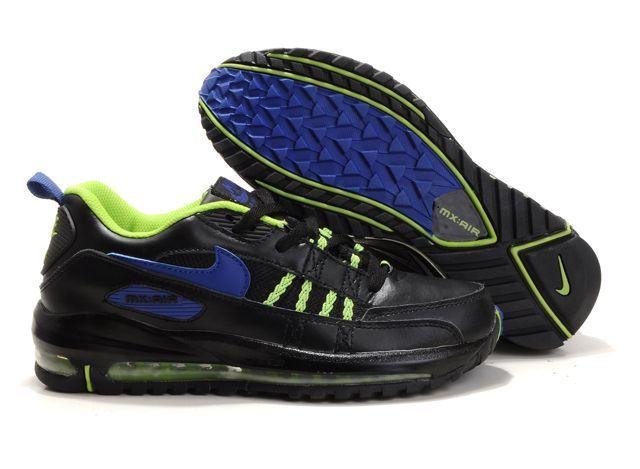 OOmn52 Nike Air Max Tn Shoes Mens Black/Blue