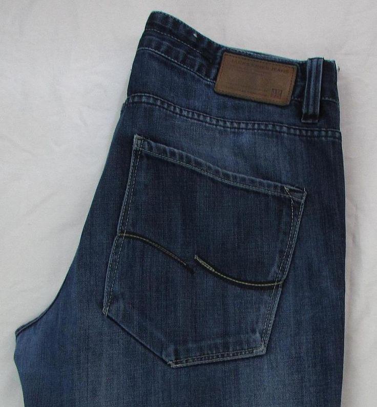Men Jack & Jones Gate Vintage Straight Leg Jeans Button Fly Low Rise sz 32 X 29 #JACKJONES #StraightLeg