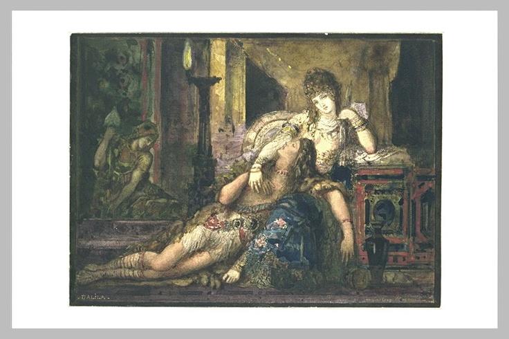 "Gustave Moureau (""Samson et Dalila"")"