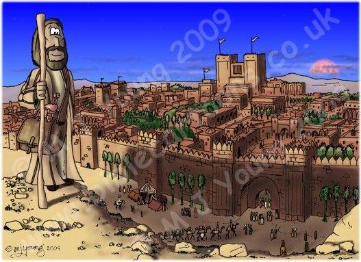Jonah 03 - Scene 08 - Nineveh