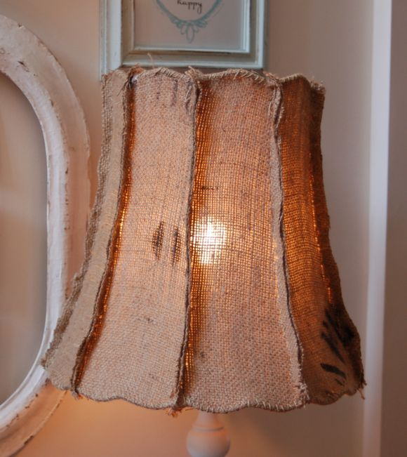 #burlap lamp shade: Burlap Lamps Shades, Crafts Ideas, Lamps Shades Crafts, Crafts Projects, Burlap Lampshades Diy, Burlap Beautiful, Burlap Lamp Shades, Misc Projects, Crafty Ideas