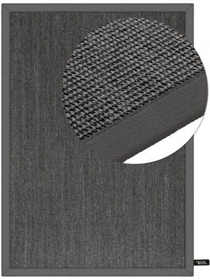 Teppich Sisal Grau 160x230 cm