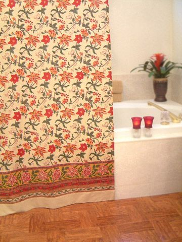 Floral Shower Curtains, Bohemian Shower Curtains, Tropical Shower Curtains, Fabric Shower Curtain