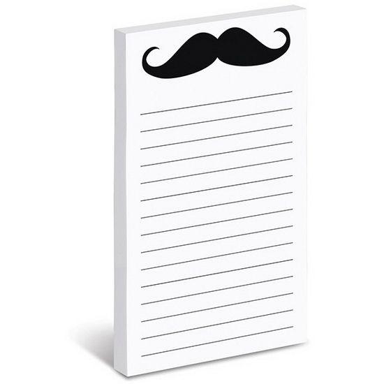 Notes autocollantes Moustache #renaudbray #papeterie #moustache