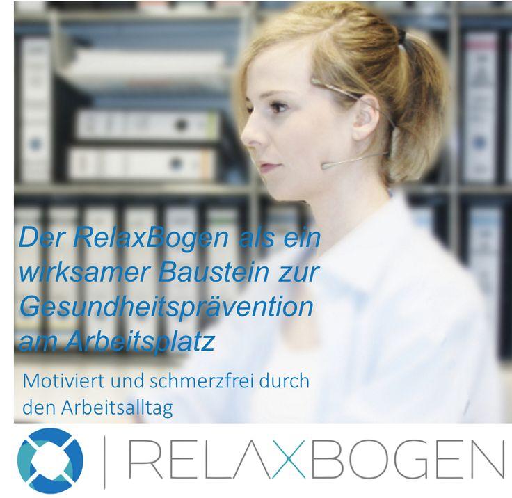 Mit dem RelaxBogen stressbedingtes Zähnepressen (Wachbruxismus) am Arbeitsplatz behandeln. Mehr Informationen zu diesem Thema findet ihr unter: http://www.bruxismus-cmd.de/relaxbogen-am-arbeitsplatz/