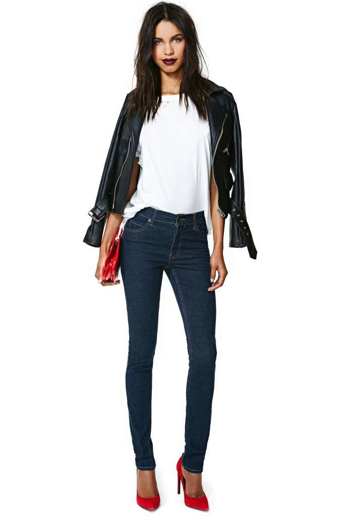 Cheap Monday Tight Skinny Jeans - Very Stretch One Wash