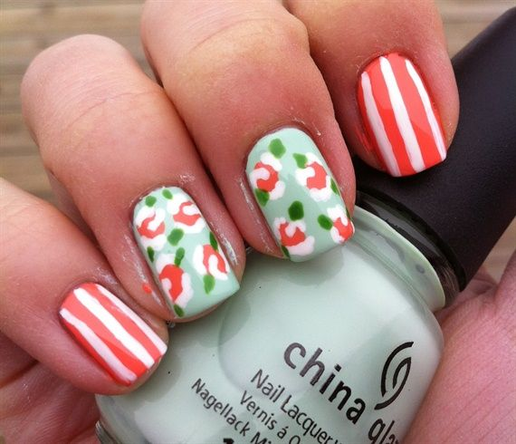 214 Best Images About China Glaze Polish Nail Art On