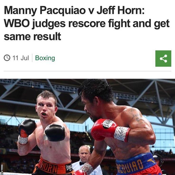 So the recount comes to the same result.  I think manny won by two but there you go.  Thoughts??? #kungfu #taekwondo #danawhite #ufc #caneloggg #conormcgregor #frankwarren #floydmayweather #eddiehearn #wbc #wba #wbo #ibf #Ireland #boxing #bjj #ufc #mma