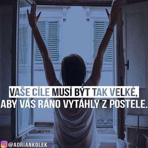 Dobrý ráno přatelé  #rano #czech #motivace #positive #slovak #motivation #lifequotes #uspech #goals