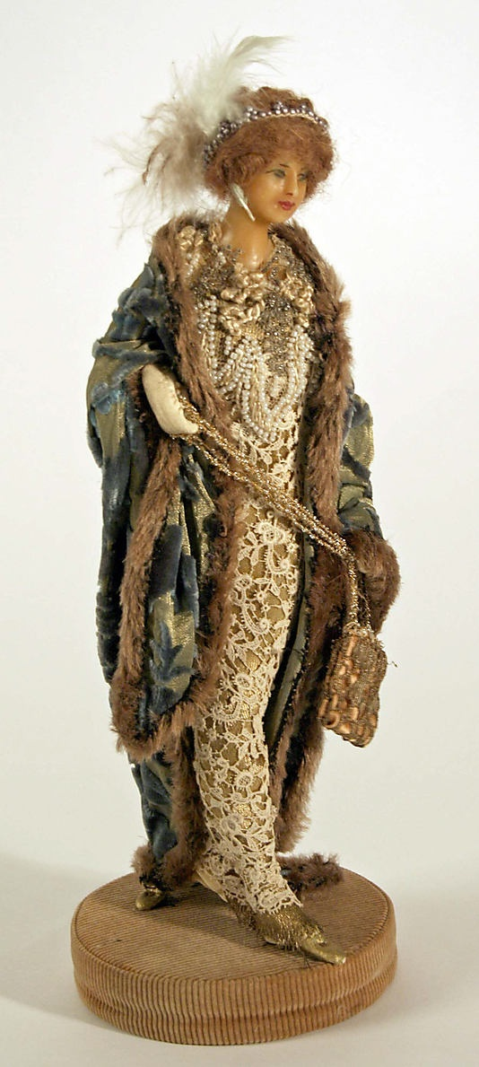 Doll  Lafitte Desirat (French)  Date: 1909–14 Culture: French Medium: wax Dimensions: [no dimensions available] Credit Line: Gift of Mrs. Walter R. Lehmann in memory of Mr. Walter R. Lehman, 1972 Accession Number: 1972.151.3