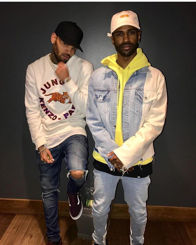 My king Chris Brown and Big Sean