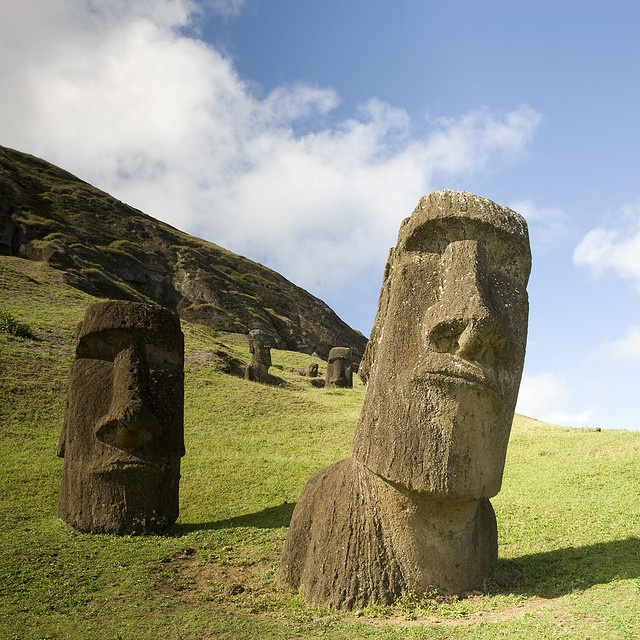 Rapa Nui / Easter Island  -The moai on the right was my favorite on the whole island!