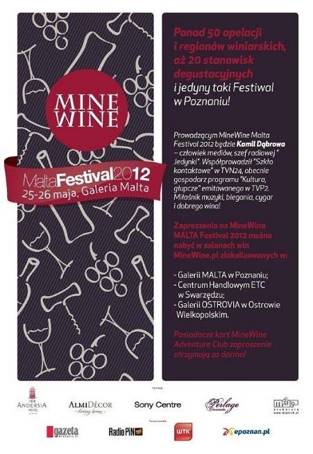 MineWine.pl - Malta Festival 2012