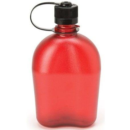 Nalgene Tritan Oasis 32 oz. Water Canteen - Red (Plastic)