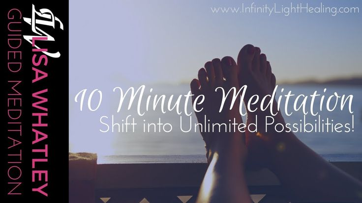 This guided meditation will help you feel happier and calmer while giving you confidence in moving forward with your day by accepting the idea that you have unlimited possibilities to explore and bring into your life to experience.