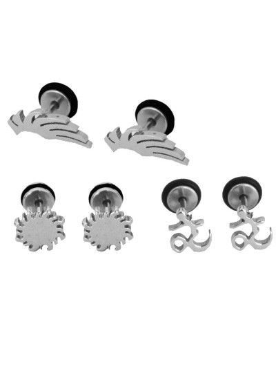 Designer Fashionable Combo Earring For Men We Have A Wide Range Of Traditional Modern And Handmade Mens Earrings Online