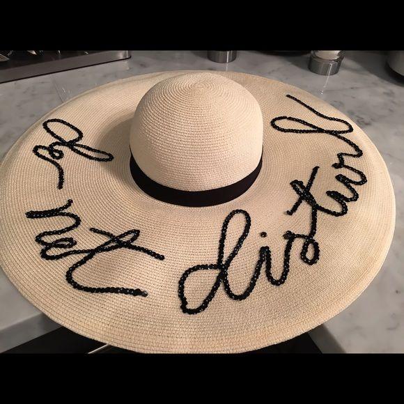 Eugenia Kim  Accessories - Eugenia Kim - Sunny 'Do Not Disturb' Sun Hat new