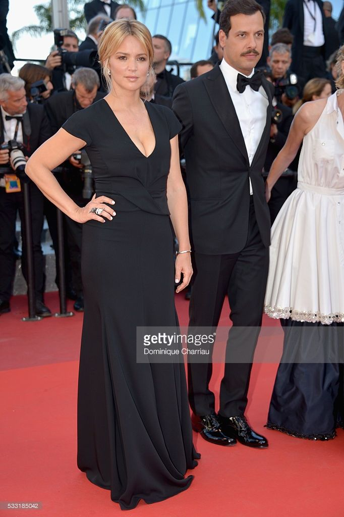 Photo d'actualité : Actress Virginie Efira and actor Laurent Lafitte...