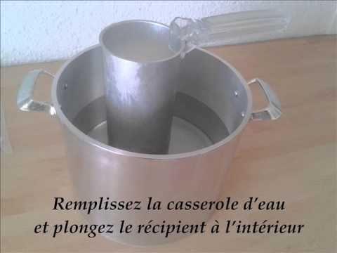 Comment faire une bougie moul e video bougie - Comment fabriquer une bougie ...
