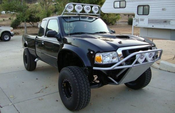 93 Ford Ranger Tt Style Off Road Fiberglass One Piece Ford
