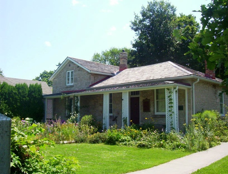 Colonel John McCrae Birthplace and Memorial Gardens in Guelph Ontario