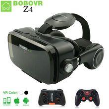 VR КОРОБКА BOBOVR Z4 VR Очки Виртуальной Реальности очки 3D очки google Картон мини 2.0 бобо vr гарнитура Для 4.3-6.0 смартфон //Цена: $22 руб. & Бесплатная доставка //  #смартфоны #gadget