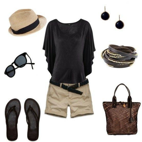 Dressing up the summer outfit...I SOOOOOOOOOOOOO miss flip flops already. (Womens Top Dressy)