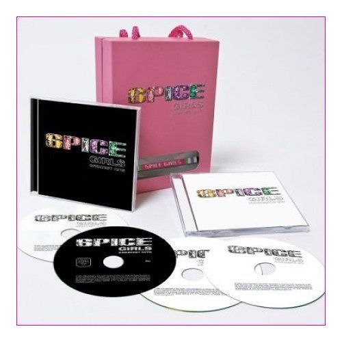 Spice Girls Greatest Hits - Sealed 3-disc CD/DVD Set UK SPICECDP1