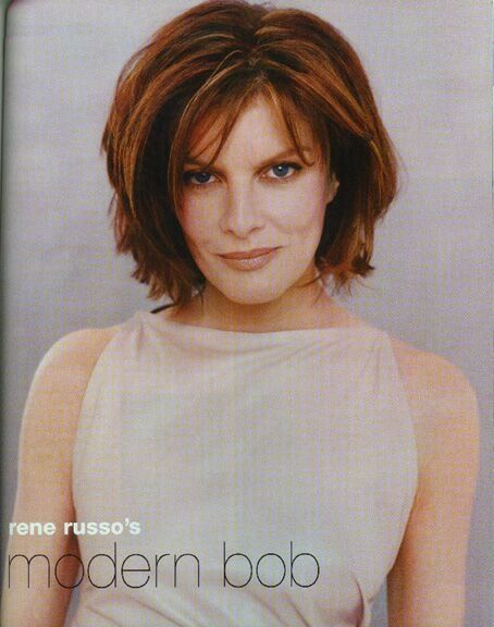Rene Russo Layered Hairstyles | Rene Russo Hair Thomas Crown