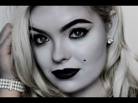 "GRAYSCALE | 1920's Makeup (""Pleasantville"" Inspired) - YouTube"