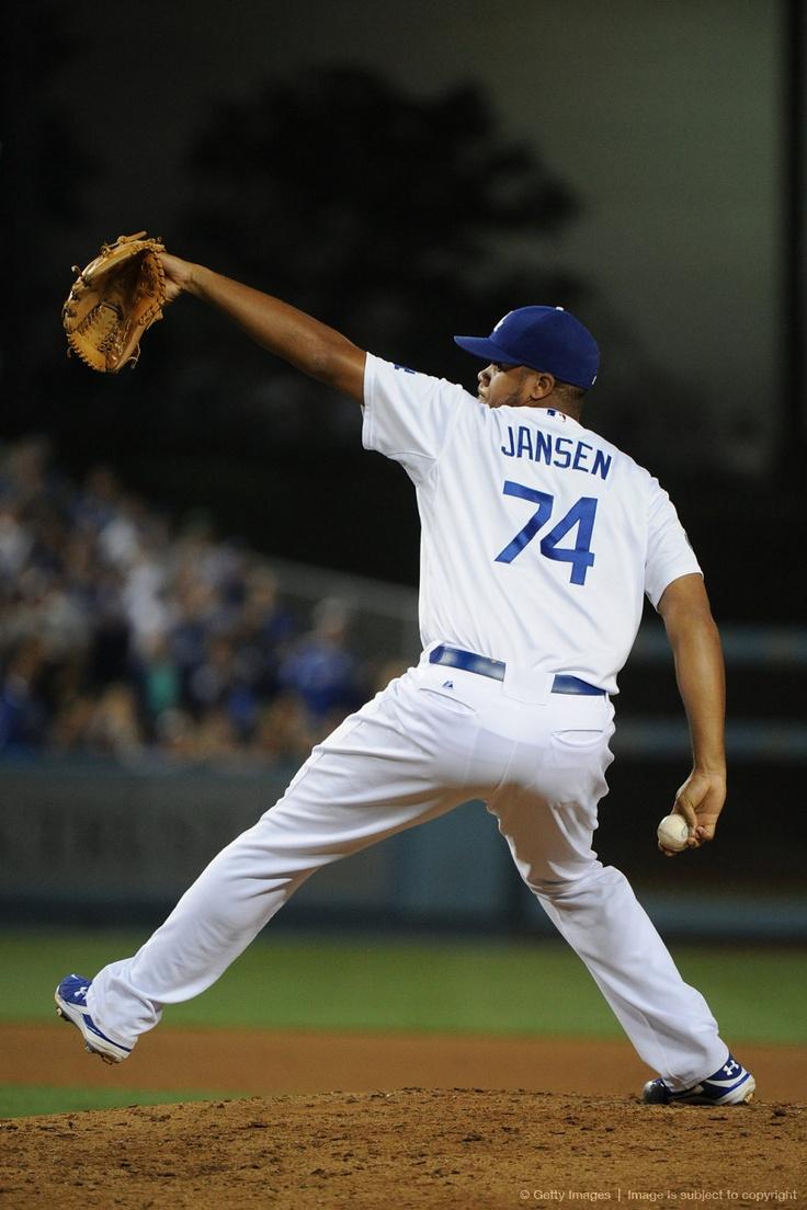 LA Dodgers. Kenley Jansen.