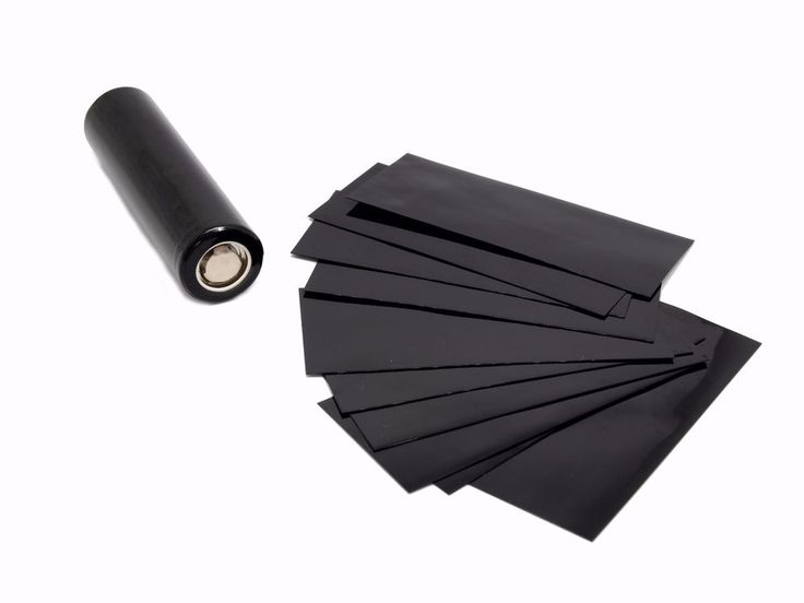 18650  Battery PVC Heat Shrink  Wraps & Possitive Pin Insulators  (lot of 10) #UnbrandedGeneric