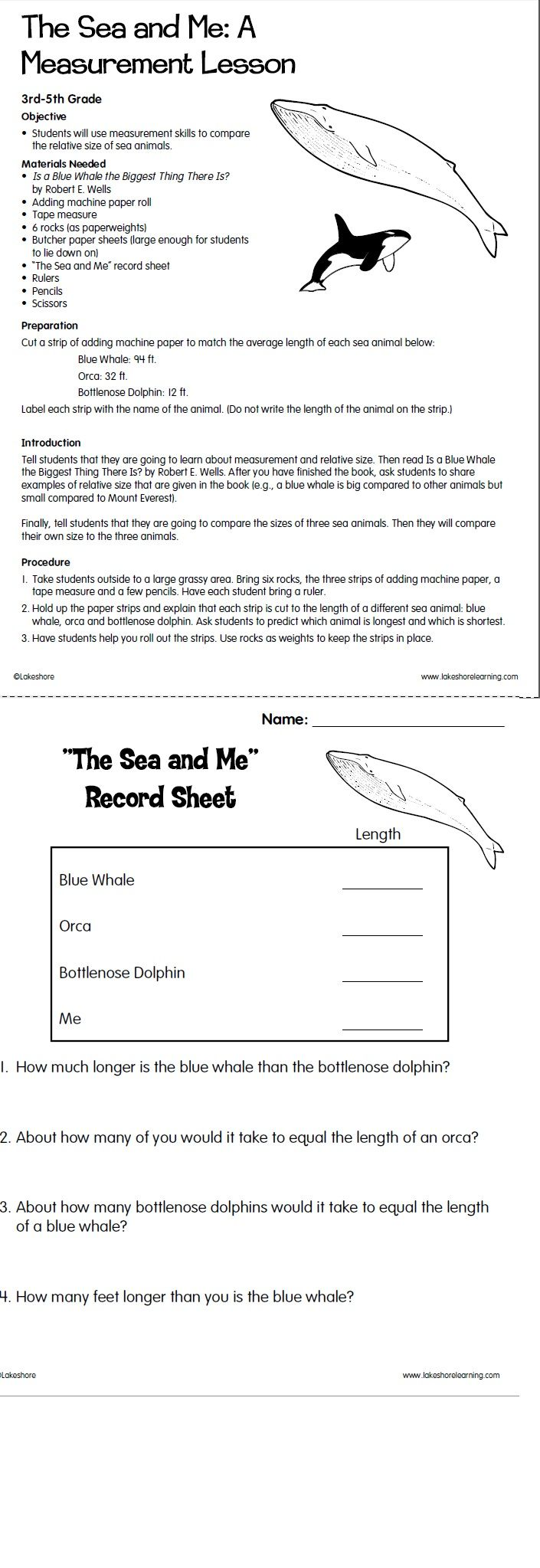 worksheet Stone Fox Worksheets 81 best teaching images on pinterest opinion writing the sea and me a measurement lesson from lakeshore learning
