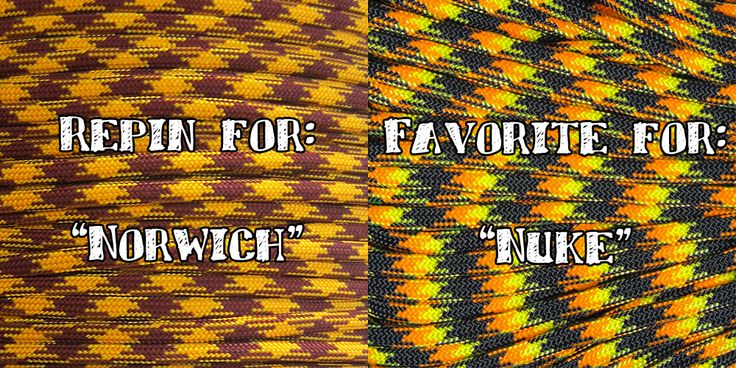 #ParacordBattle time!!  Which color would you like to see on SALE for $5.50/100 ft. ALL NEXT WEEK?! Vote.  #paracord   #battle   #norwich   #nuke   #discount   #sale   #contest   #competition   #youchoose   #vote   #survival   #prepper   #rope   #diy