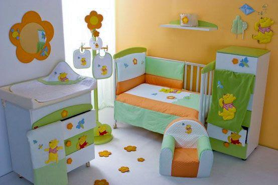 baby boy winnie the pooh nursery - Google Search