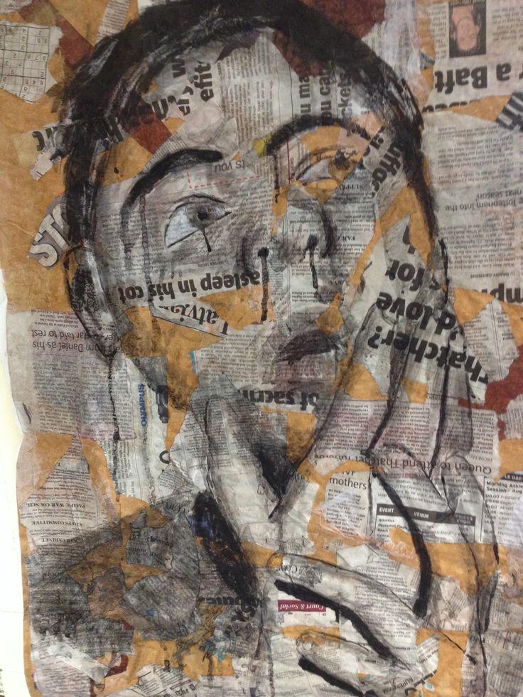 Loui Jover style self portraits