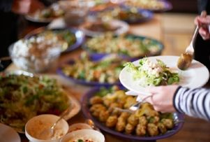 Funeral food has a higher calling- comfort. List of good funeral foods