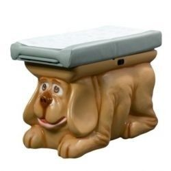 Pedia Pals puppy changing table