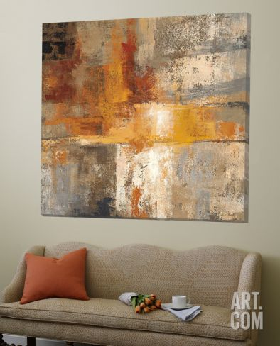 Silver and Amber Crop Loft Art