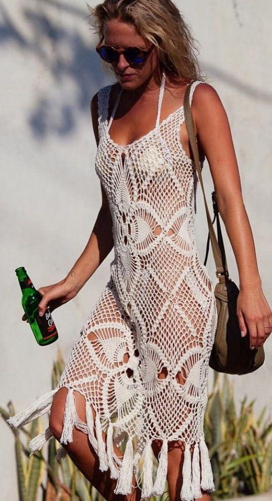 Andi Bagus - Shalimar Crochet Dress