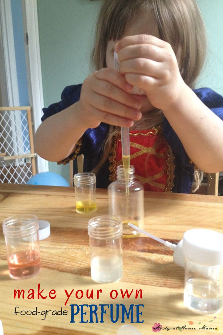 Creating Your Perfect Minimalist Wardrobe In Stages: Make Your Own Perfume: Sensory Activity For Kids