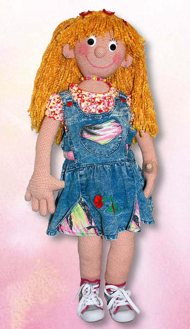 7 besten Crocheted doll LISABELLA Bilder auf Pinterest   Ravelry ...