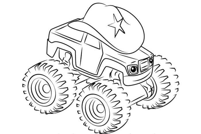 Printable Blaze And The Monster Machines Coloring Pages Free Coloring Sheets Monster Truck Coloring Pages Truck Coloring Pages Valentines Day Coloring Page