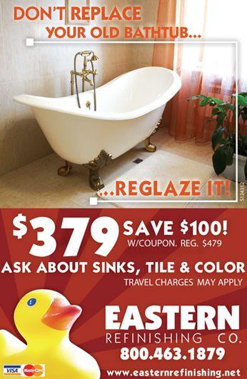 Reglaze ugly sink colors to prep house